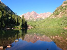 Maroon Bells. Photo by Mike Reynolds