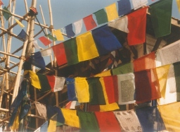 Prayer flags. Photo by JT