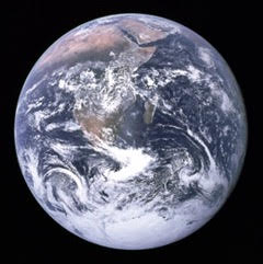 Earth_Floating_in_Space_Africa_view
